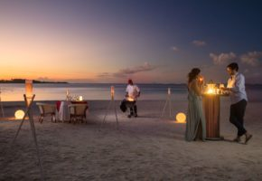 Belle Mare Beach Dining